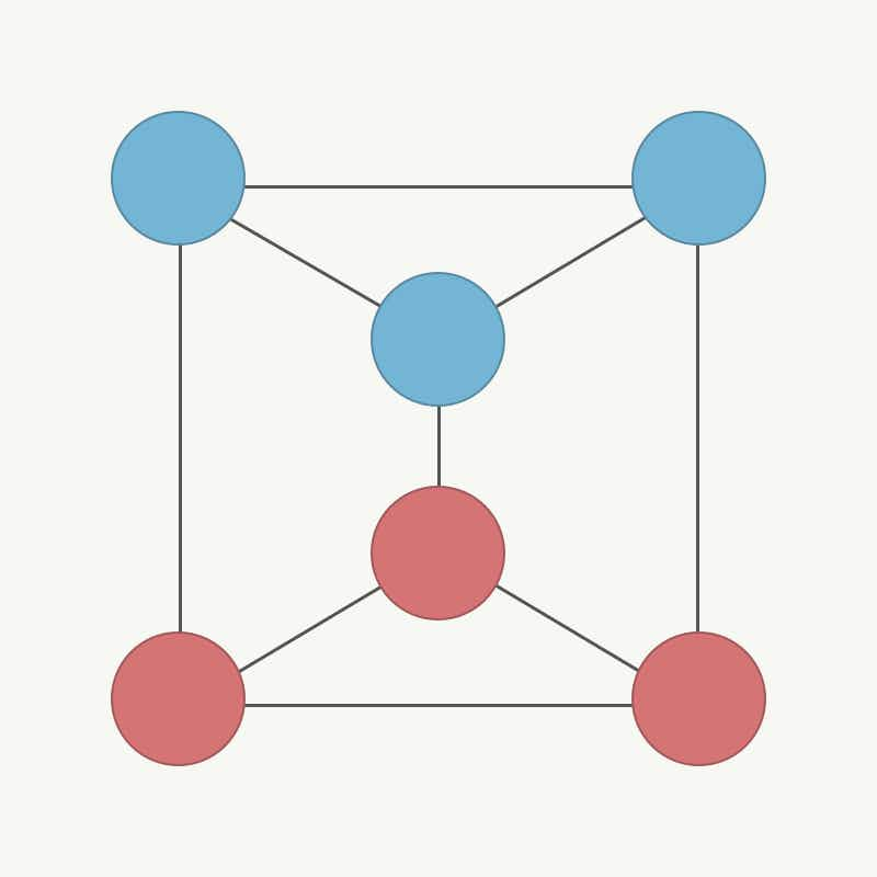 We present a new way of finding communities in networks that change over time.