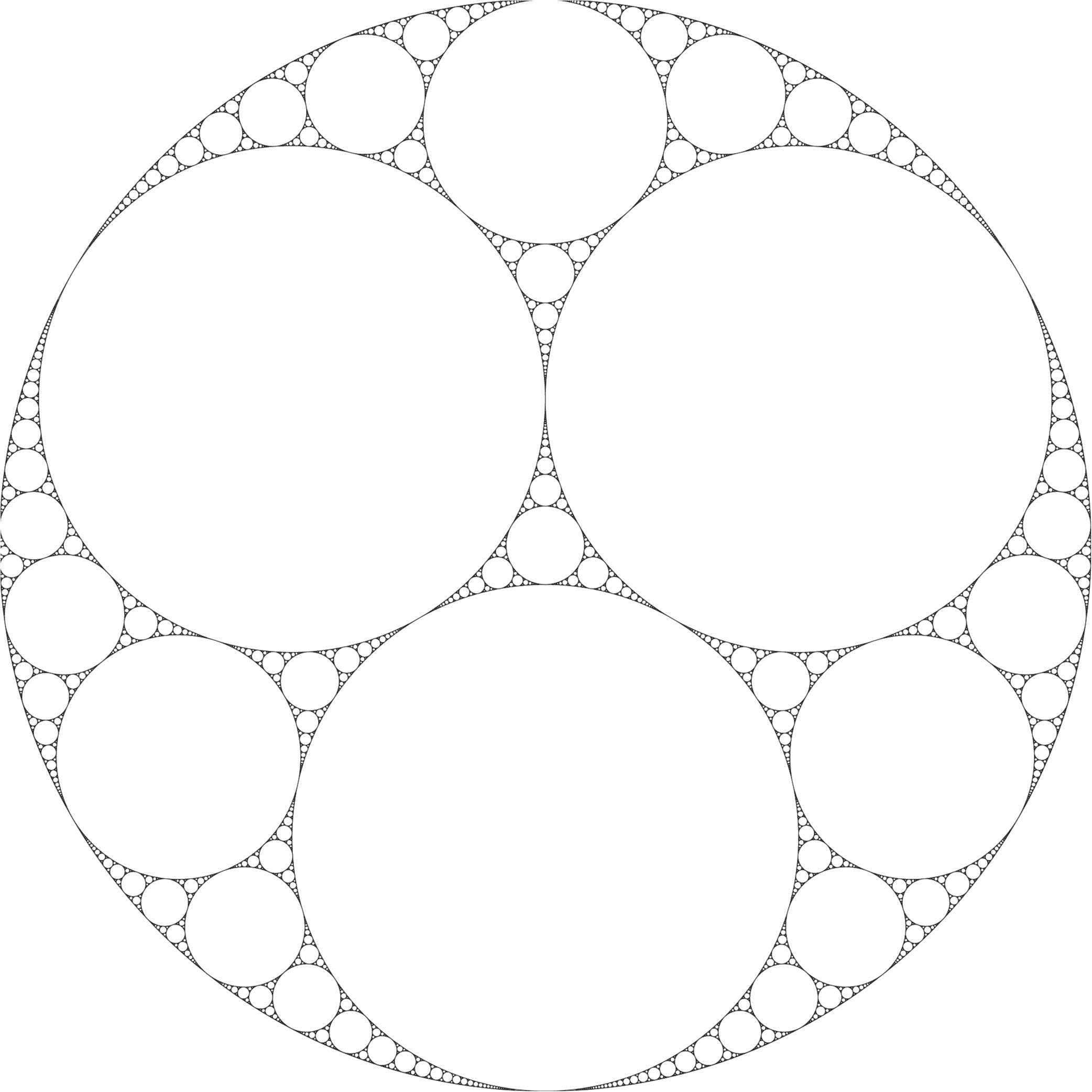 Estimate for the fractal dimension of the Apollonian gasket in d dimensions